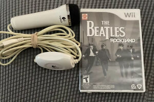THE BEATLES: Wii Rockband Complete With Logitech Microphone Tested