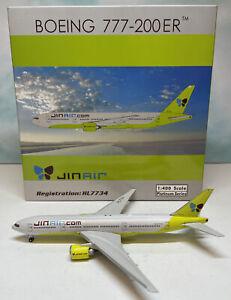Phoenix 1:400 JinAir 777-200 HL7734 Boeing B777-200ER Korea