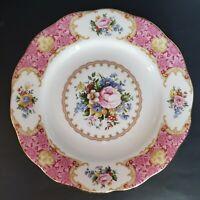"Royal Albert Lady Carlyle 8"" Bone China Salad Dessert Plate NEW W TAG"