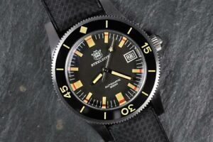 STEELDIVE SD1952T Fifty Fathoms Automatic 300m Diver Watch *UK SELLER*
