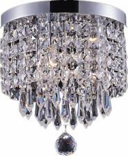 éclairage intelligent 3lumières Lustre en cristal moderne, montage encastré