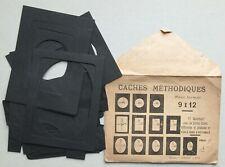 Caches méthodiques ARTISTA Paris, pour tirages photographiques argentiques