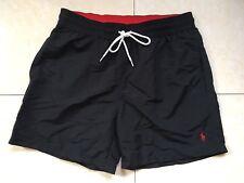 Polo Ralph Lauren Swim Shorts viajero Tronco Negro Talla S, M, L