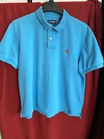 Chaps Men's Polo Shirt Short Sleeve Size XL Blue