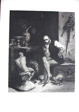 D'APRES ROBERT-FLEURY -BENVENUTO CELLINI-GRAVURE PAR A.MASSON - REVUE L'ART 19e
