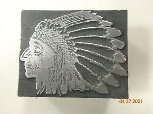 Printing Letterpress Printer Block Decorative Native American Print Cut