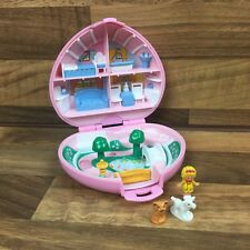 Vintage Polly Pocket Country Cottage Brown Dog patch VERSION 100% complet