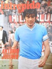 Intrepido n°48 1975 - Antonio Juliano Napoli - Renato Pozzetto [G.249]