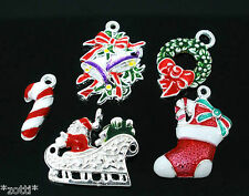 10 Pendants Crafting Christmas Xmas Wholesale Bundle Christmas 1€ / Piece