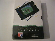 Pure-Stat Baseball new factory sealed Apple II  game Software Simulations