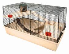 Kerbl Kleintierkäfig Gabbia Hamster 102 beige 100 x 53 x 55 cm Nagetier Holz