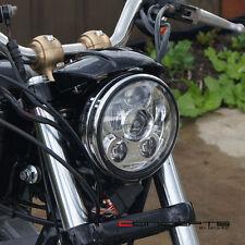 Chrome LED Headlight Insert - Fits Harley Dyna Low Rider EFI FXDLI : 2004–2006