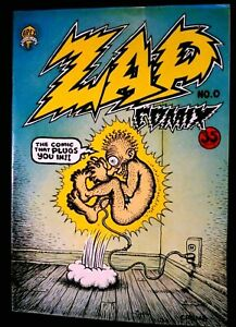 ZAP COMIX #0 October 1967 APEX NOVELTY UNDERGROUND COMIX R. CRUMB MR. NATURAL NM