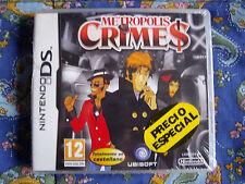 Metropolis Crimes - Nintendo DS - Precintado - Nuevo