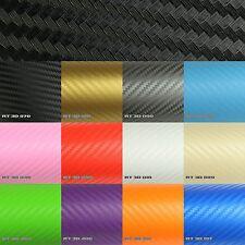7,89€/m² Premium 3D Carbon Autofolie Matt Luftkanal Folie BLASENFREI Auto Möbel