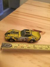dinky toys corvette yellow - dinky toys vette yellow