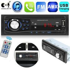 Single DIN Car Stereo MP3 Player AUX USB TF FM Radio Audio In-dash Handsfree MIc