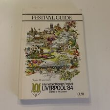 More details for vintage liverpool garden festival guide book 84 1984 2nd may to 14th oct rare