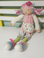 EMILY BUTTON PLUSH TOY WITH TAGS CHARACTER TOY 45CM! HALLMARK DOLL!