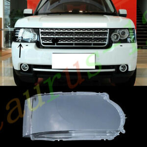 Right Side Headlight Cover Clear PC + Glue For Land Rover Range Rover 2010-2012