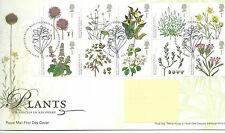 GB - FIRST DAY COVER - FDC - COMMEMS -2009-  PLANTS - Pmk TH