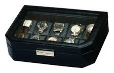 Leather Watches Modern Jewellery Boxes