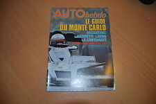 Auto hebdo N°97 Fiat 131 Abarth.Monté-Carlo.