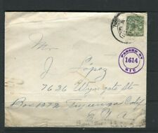 MEXICO; Early 1900s Censor LETTER/COVER fine used item to USA