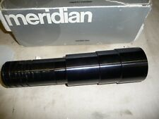 Slide Projector lens LONG THROW MERIDIAN 250mm  f4.3 + grey box .  G4