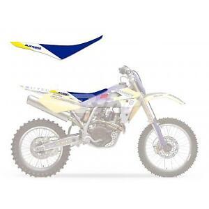 JFG RACING Gripper Funda blanda para asiento de motocicleta Beta 250 300 2014-2019 15 16 17 18-Blanco