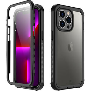For iPhone 13 Pro Max 13 Mini Case Shockproof Waterproof with Screen Protector