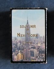 Vintage New York City Empire State Building Playing Card Deck, unused