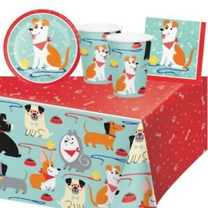 Dog Puppy Party Tableware, Decorations & Balloons