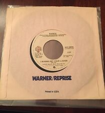 """PRINCE 45  I Wanna Be Your Lover / My Love Is Forever 1978 79 Early Single 7"""""""
