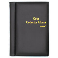 Coin Collectors Collecting Album Holds 120