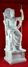 Zeus the greatest sculpture statue greek God Free Shipping - Tracking Big Size