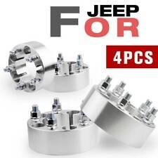 """2"""" Wheel Spacers Adapters 5x4.5 For Jeep Wrangler TJ YJ XJ KJ KK ZJ MJ Ford"""
