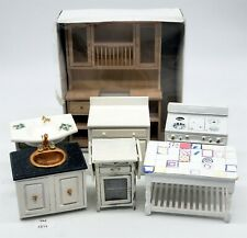 New ListingLmas ~ Doll House Miniatures - Wooden Kitchen Furniture+