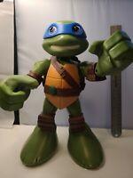 """Teenage Mutant Ninja Turtle 12"""" LEONARDO Talking Action Figure 2014 💥WORKS💥"""