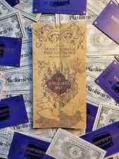 Harry Potter Carte du maraudeur, Billet de train du Poudlard Express