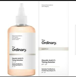 The Ordinary Glycolic Acid 7% Toning Solution 240ml GENUINE🇬🇧. Holy Grail!!