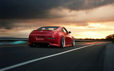 CAR POSTER AB842 Photo Picture Poster Print Art A0 to A4 NISSAN 350Z RED