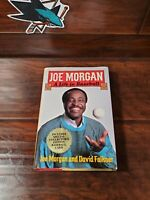 Signed First Edition Joe Morgan A Life In Baseball with Baseball Card Included