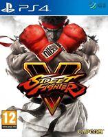 Street Fighter V 5 PS4 * NEW SEALED PAL *