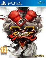 Street fighter v 5 steelbook edition PS4 * neuf scellé pal *