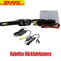 Kabellos Rückfahrkamera NACHTSICHT MONITOR Auto KFZ PKW Bus Kamera Car Camera