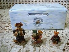 Boyds Public Libeary Village Figurines *New Store Stock* Retired