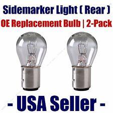 Sidemarker (Rear) Light Bulb 2pk - Fits Listed Toyota Vehicles - 1157