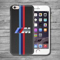 BMW M3 M4 M5 M6 M style car THIN TPU case cover iPhone 4 5 5c 5s SE 6s 7 8 plus+