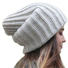 Slouchy Beanie Oversized Warm Winter Dreadlock Hat for Women Knit Beanie for Men